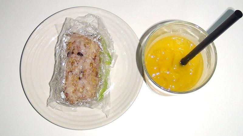 QQ Rice: Vegetarian rice roll