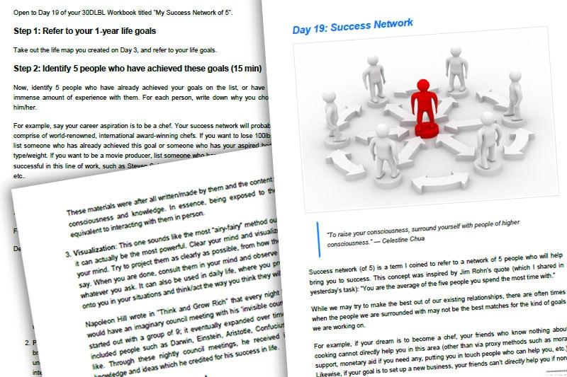 30DLBL Guidebook: Network