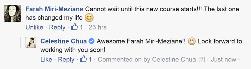 Anti-Procrastination Participant Farah's comment