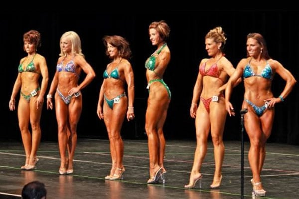 Barbie Thomas, body builder competition