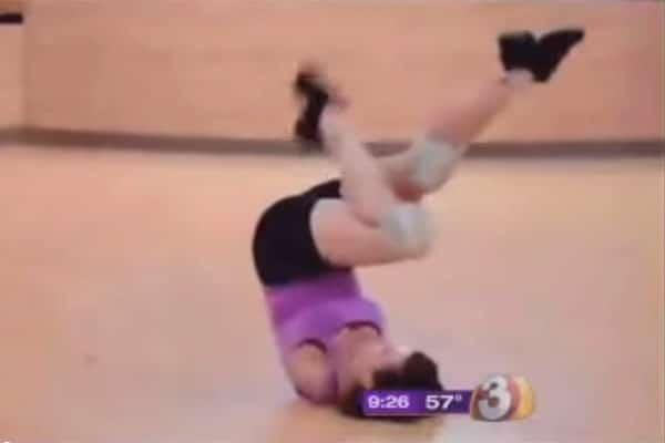 Barbie Thomas, exercising