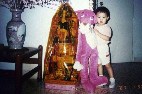 1987: Pink panther toy
