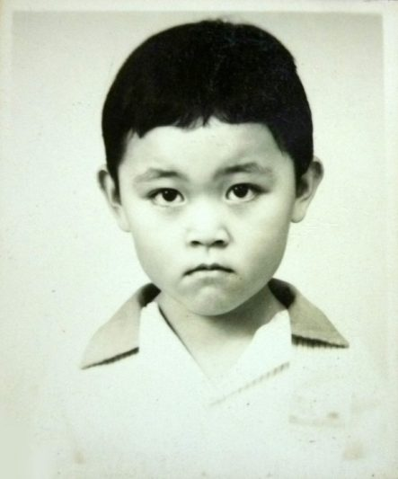 1991: My first passport photo