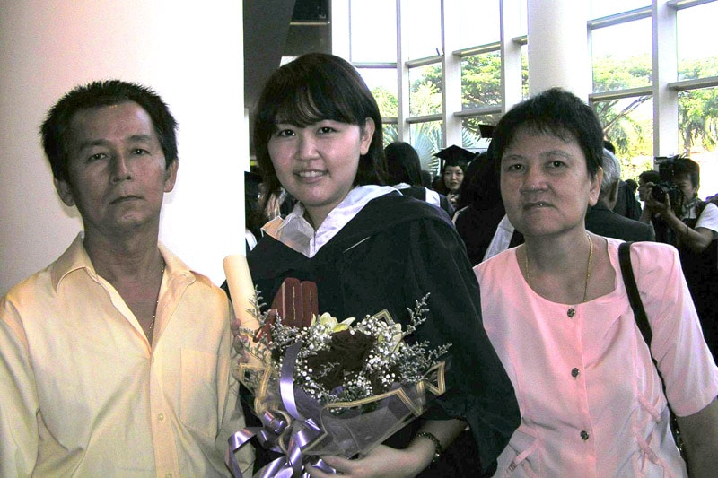 Celes' NUS graduation