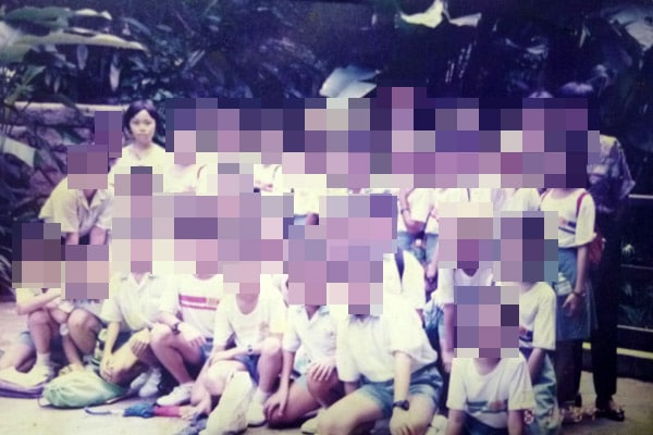 My primary school class photo (Rulang Primary School)