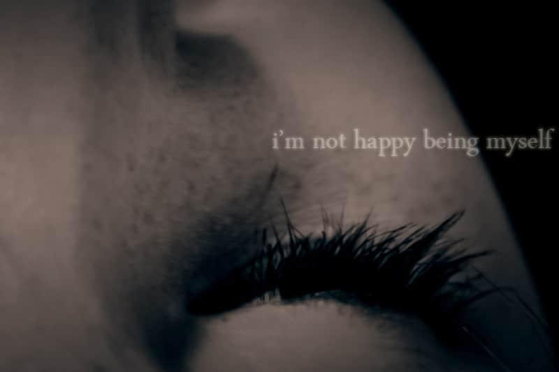 """Eyelashes - """"I'm not happy being myself"""""""