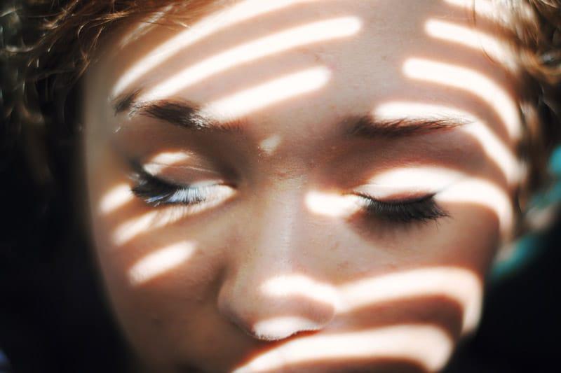 Girl in shadow