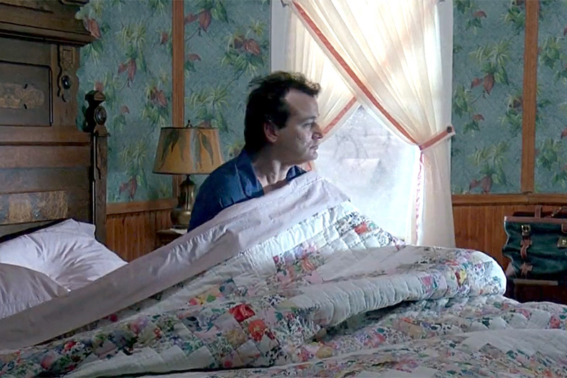 Phil Connors in Groundhog Day