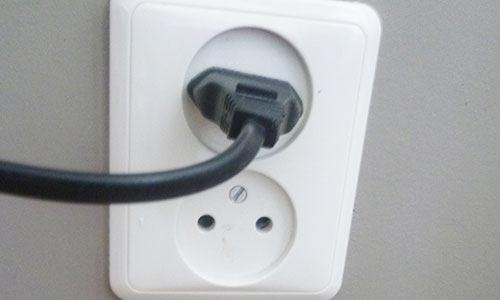 Power socket in Holland