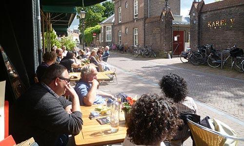 A cafe in Utrecht