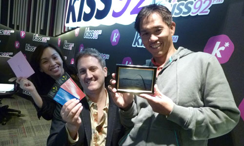 Kiss92 Deejays – Maddy, Jason, and Arnold!