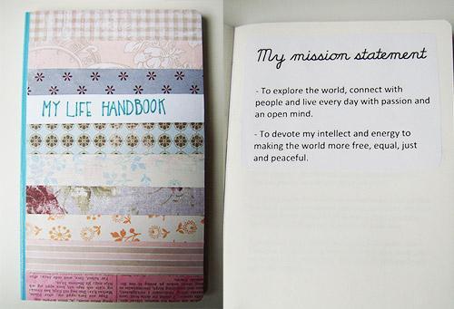 Life handbook by Karin