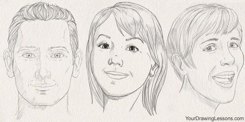 Participant Matt's drawings