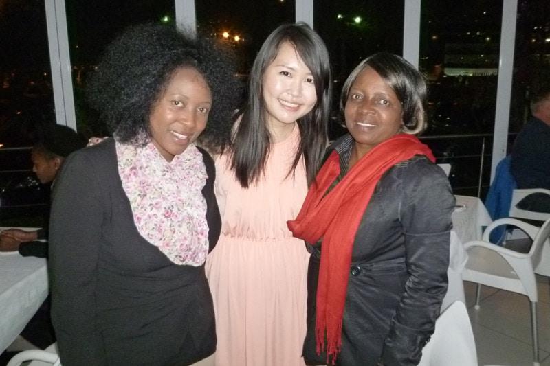 Johannesburg PE Readers Meetup: Audrey, Me (Celes), Ellen