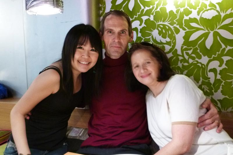 London Meet-up: Celes, Bob and Catherine
