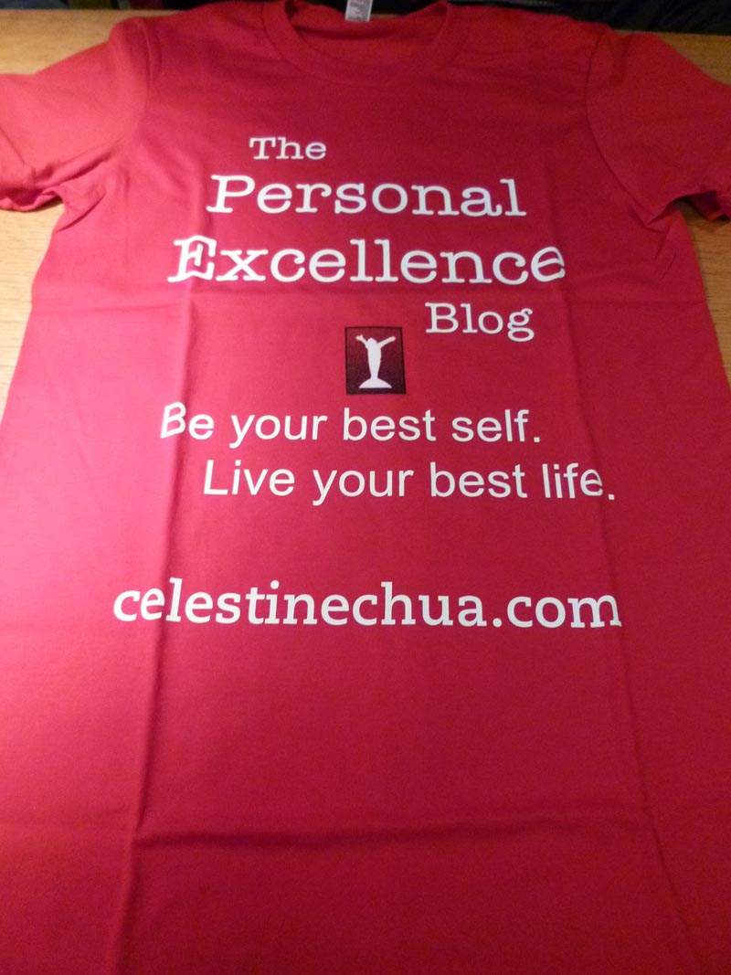London Meet-up 2011: Personal Excellence Shirt