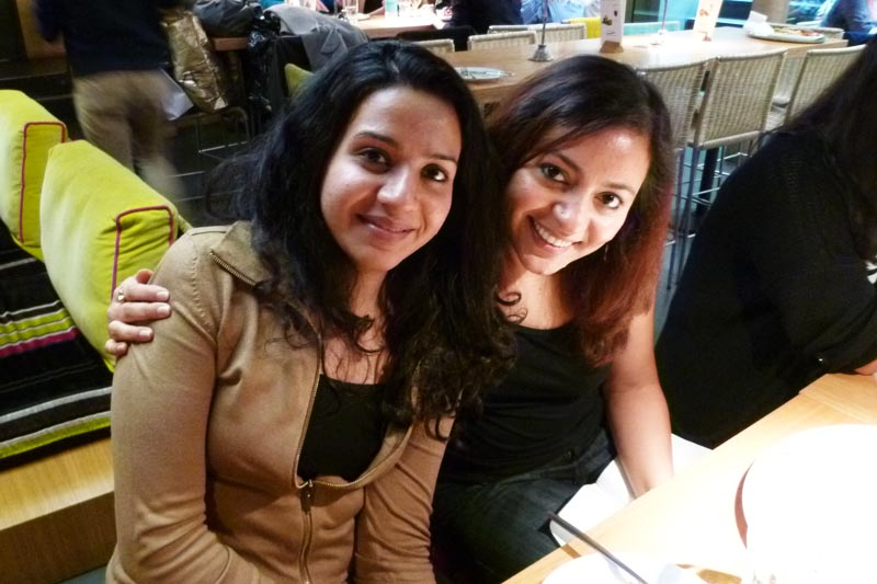 London Meet-up: Megha and Suparna
