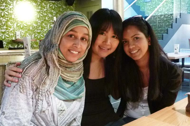 London Meet-up: Sulthana, Celes and Rashna