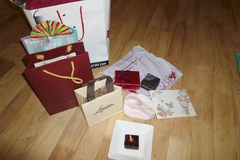 Birthday Gifts for my 29th Birthday