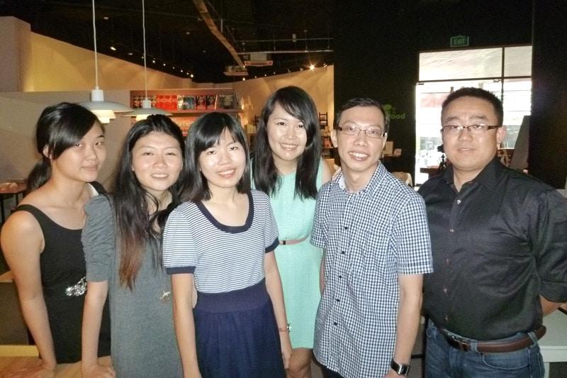 Clarabelle, Wanxuan, Roxanne, Celes, Ngee Key, Hong Wei