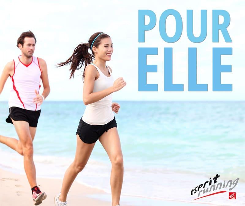 Overexposed model: Espirit Running Ad