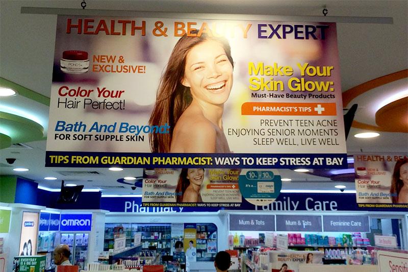 Overexposed model: Guardian Pharmacy