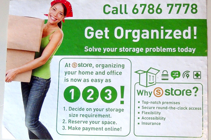 Overexposed model: S Store