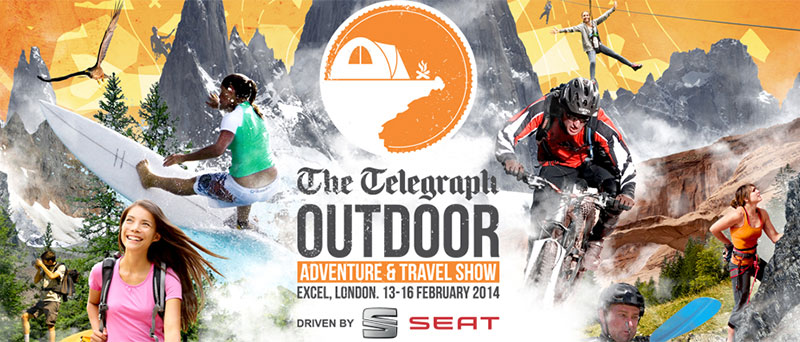 Overexposed model: The Telegraph Outdoor Adventure & Travel Show