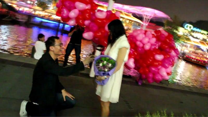 Ken proposing to me :)