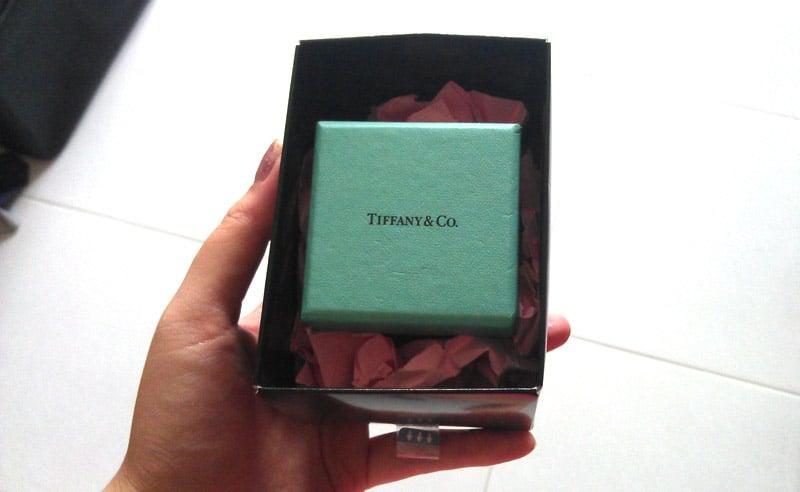 Tiffany & Co. ring box