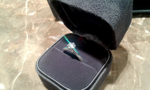 My Proposal Ring from Ken :)