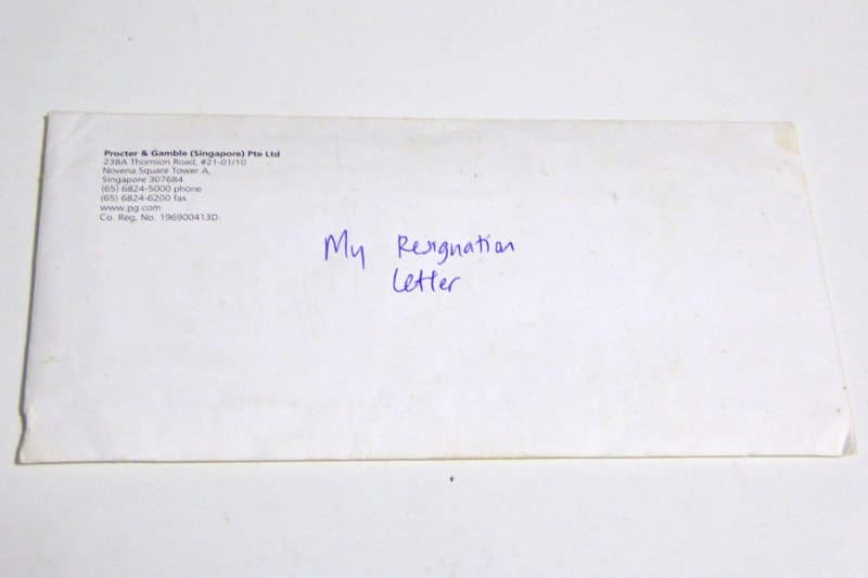 What to Avoid When Writing Your Resignation Letter