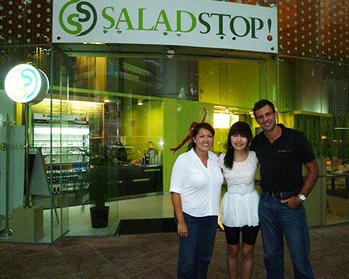 Salad Stop at One George Street