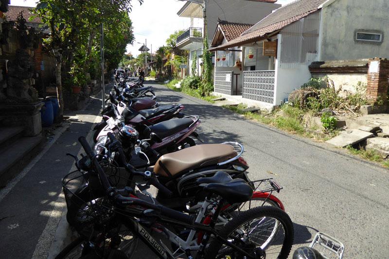 Ubud: Scooters