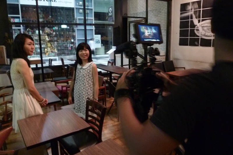Soul Sisters: Filming one-to-one coaching