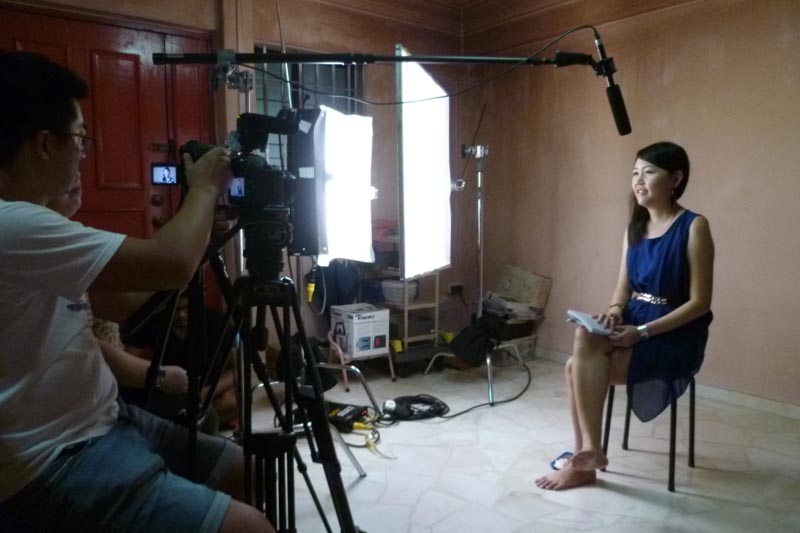 Soul Sisters: Interview at Celes's home