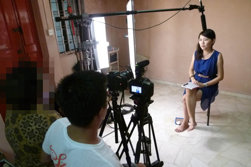 Soul Sisters: Interview at my home, closeup