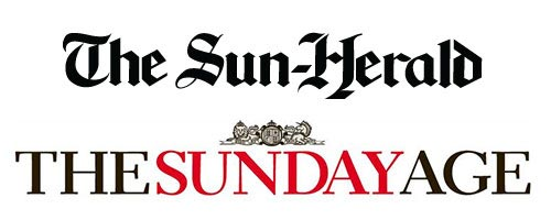 Featured in Sun Herald's Sunday Age