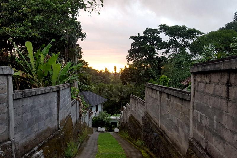 Ubud: Sunset