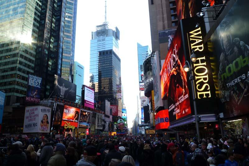 Times Square at Manhattan, New York City
