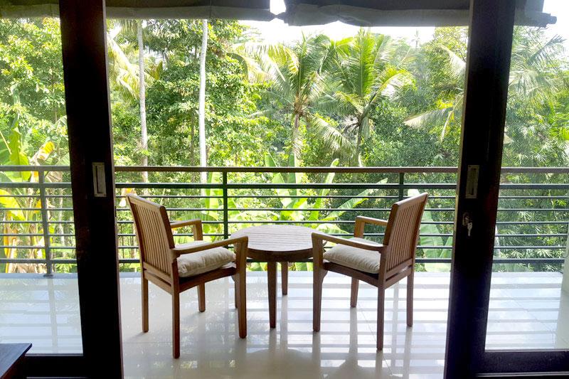 Ubud Villa: Balcony