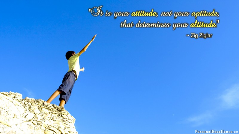 Attitude or Altitude Wallpaper