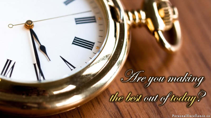 """[Create Your Best Day] Wallpaper: """"Are you making the best out of today?"""""""