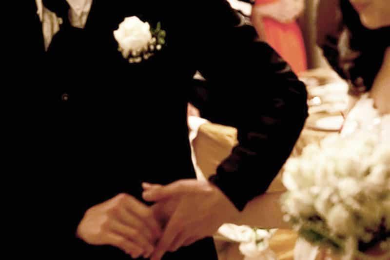 Bride hand-off