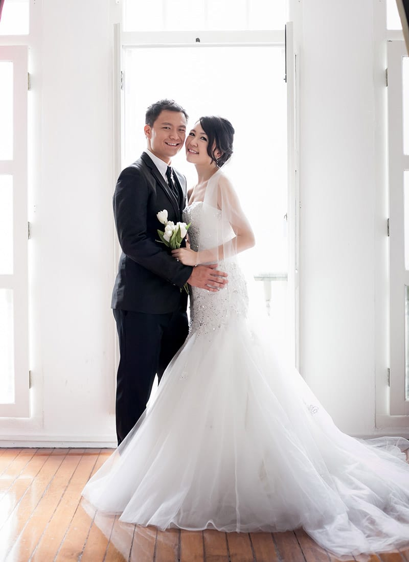 Ken and Celes, married