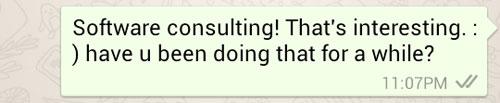 My response to Ken on Whatsapp