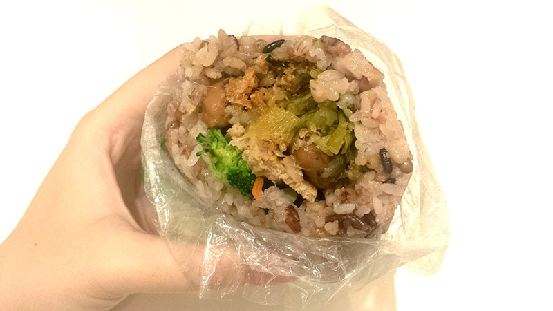 QQ Rice: Vegetarian rice roll