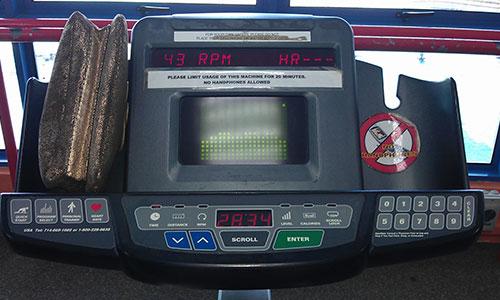 Day 7 Gym Bike