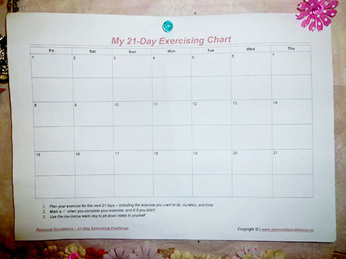 Pre-Work Chart