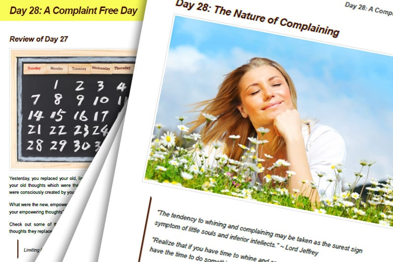 30BBM Guidebook: The Nature of Complaining
